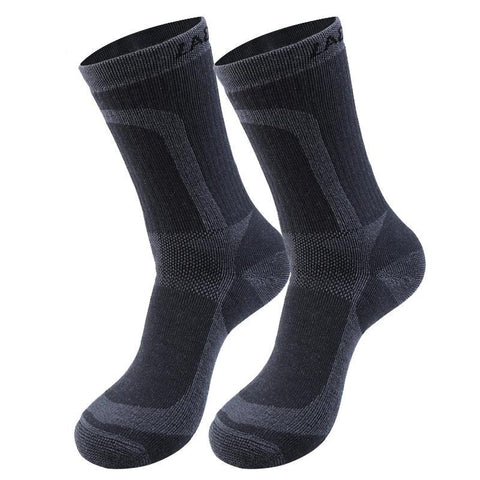Lackwar Merino Wool Sport Crew Socks - Men's - Camotrek