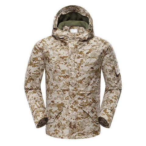 Mountainskin Tactical Insulated Jacket Camo Desert Digital - Men's - Camotrek