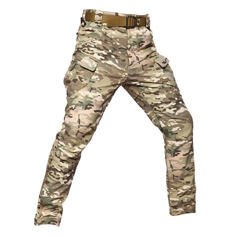 Softshell Tactical Pants Camo CP - Men's - Camotrek