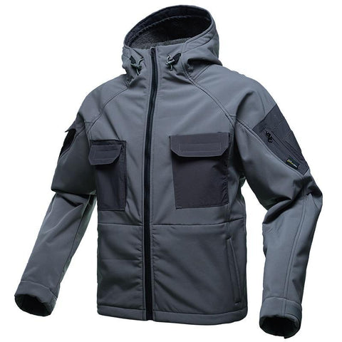 FREE SOLDIER Tactical Softshell Jacket - Men's - Camotrek
