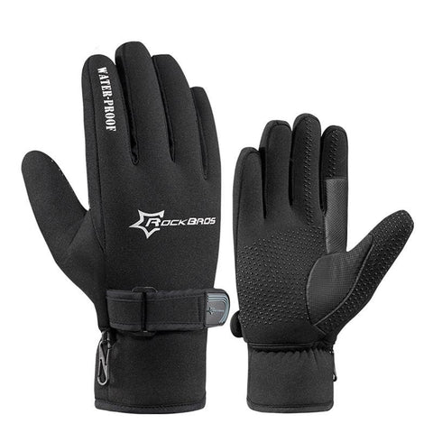 ROCKBROS Winter Cycling Gloves - Men's - Camotrek