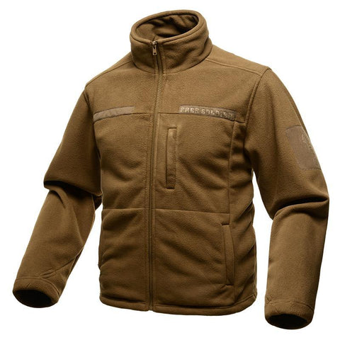FREE SOLDIER Zip Fleece Jacket - Men's - Camotrek
