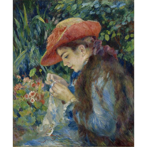 Pierre-Auguste Renoir, French, 1841-1919. Oil on canvas. Acquired by Sterling and Francine Clark, 1935
