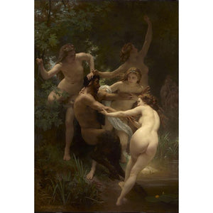 Nymphs and Satyr, 1873