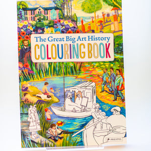 The Great Big Art History Colouring Book