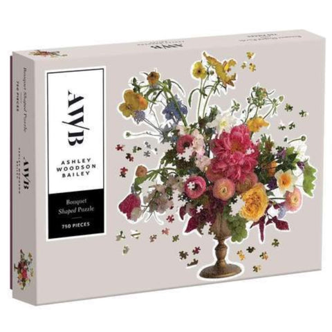 Ashley Woodson Bailey 750 Piece Shaped Jigsaw Puzzle