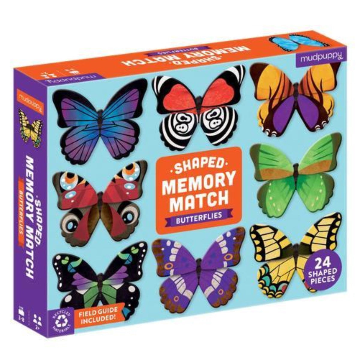 Butteries Shaped Memory Match