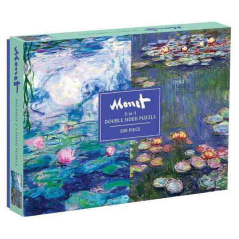 Monet Double Sided 500 Piece Jigsaw Puzzle