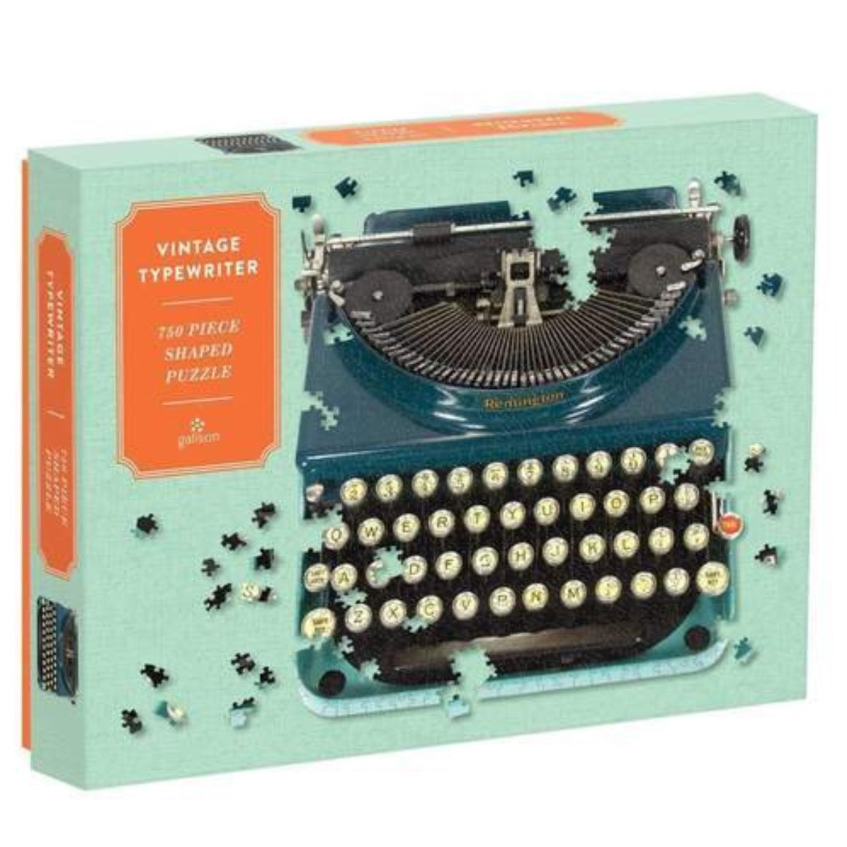 Vintage Typewriter750 Piece Shaped Jigsaw Puzzle