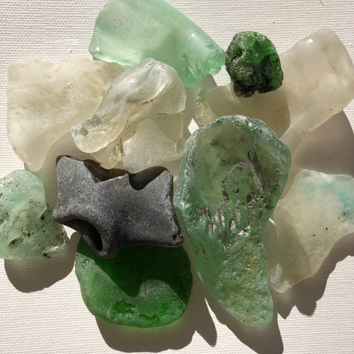 Bonfire Sea Glass