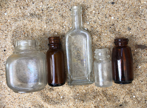 Beach-Found Bottles (lot #7)