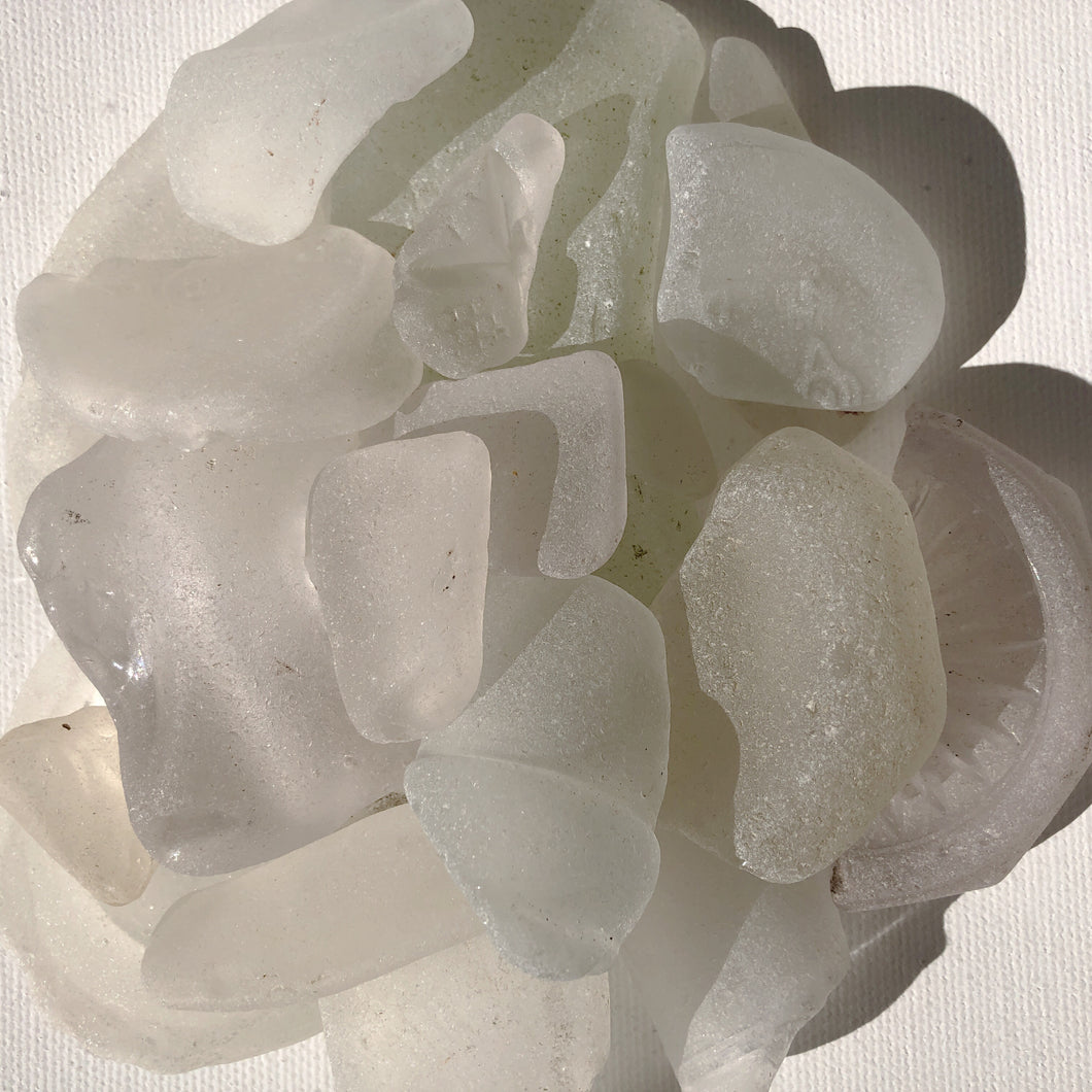 White Sea Glass