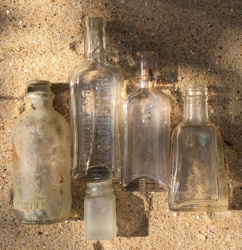 Beach-Found Bottles (lot #4)