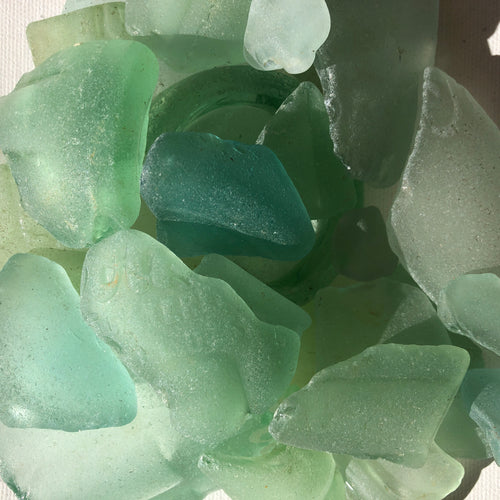 Seafoam Sea Glass