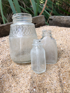 Beach-Found Bottles (lot #6)