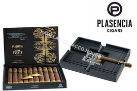Plasensia Alma Fuerte Nestor IV (Toro) Box of 10 with Ashtray