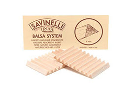 Savinelli 1876 Balsa System 6.5 mm 20's Pack of 5