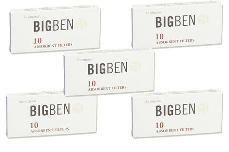 Big Ben Absorbent Filter 10's Pack of 5