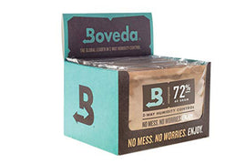 Boveda 60g Humidipak Box of 12 Packs RH Level 72%