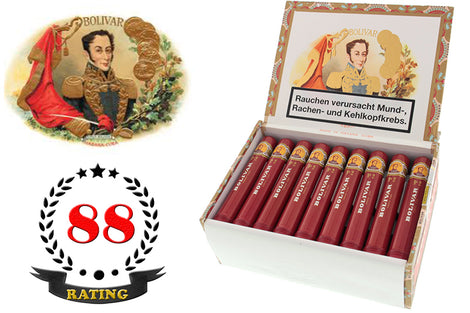 Bolivar Tubos No.2 Box of 25 Sticks