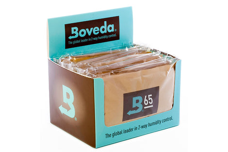 Boveda 60g Humidipak Box of 12 Packs RH Level 65%