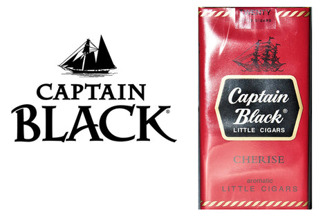 Captain Black Cherise Little Cigars 20's Box of 10 Packs