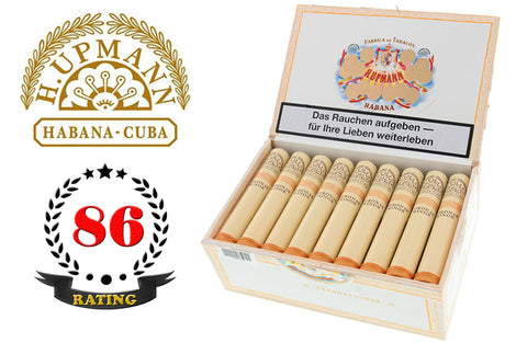 H. Upmann Corona Minor Tubos Box of 25 Sticks