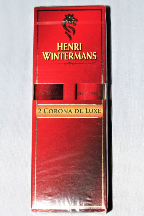 Henri Wintermans Corona Deluxe Tube Pack of 2 Tubos