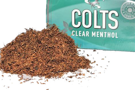 Colts Clear Menthol 40g Box of 5 Packs