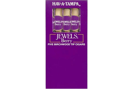 Jewels Berry Wood Tipped Cigar Pack of 5 Sticks