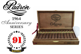 Padron 1964 Anniversary Series Belicoso Maduro Box of 25 Sticks