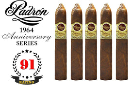 Padron 1964 Anniversary Series Belicoso Maduro Pack of 5 Sticks