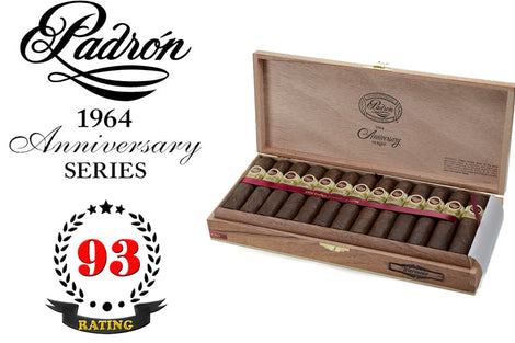 Padron 1964 Anniversary Series Hermoso Maduro Box of 26 Sticks