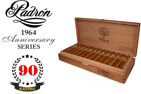 Padron 1964 Anniversary Series Hermoso Natural Box of 26 Sticks