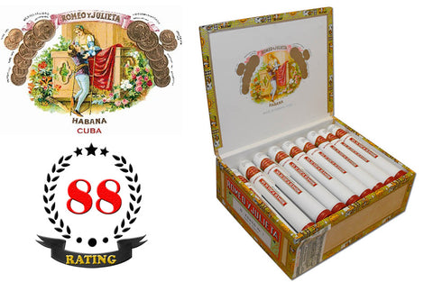 Romeo Y Julieta No.1 Deluxe Tubos Box of 25 Sticks