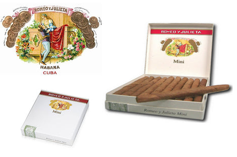 Romeo Y Julieta Mini Pack of 20 Miniatures