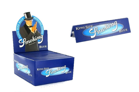 Smoking King Size Blue Box of 50 Booklets (110MM)