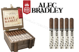 Alec Bradley The Black Market Punk Pack of 5