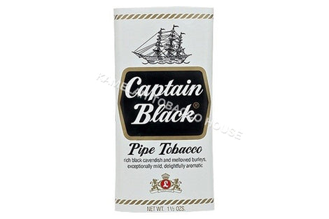 Captain Black White Regular Pipe Tobacco Box of 6 Packs