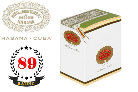 Hoyo De Monterrey Epicure No. 2 Tubos Box of 15 Sticks