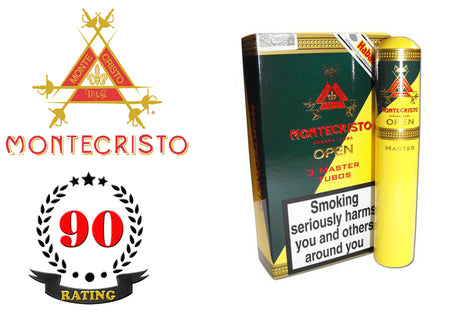 Montecristo Open Master Tubos Pack of 3 Sticks