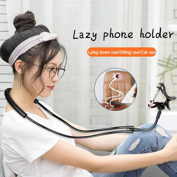 Flexible Neck Hanging Smartphone Holder