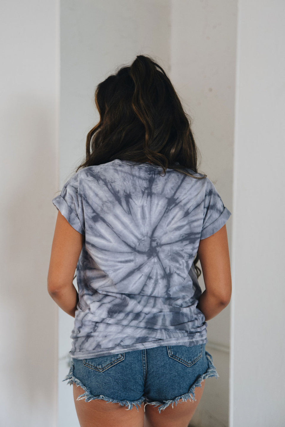 Girls Ghoul Guy Tie Dye Tee