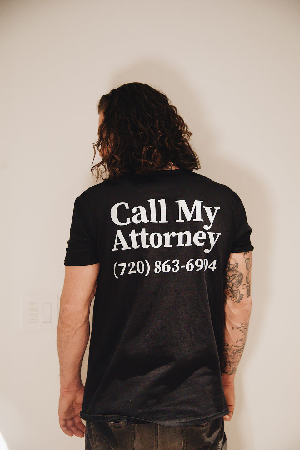 Call My Attorney Tee