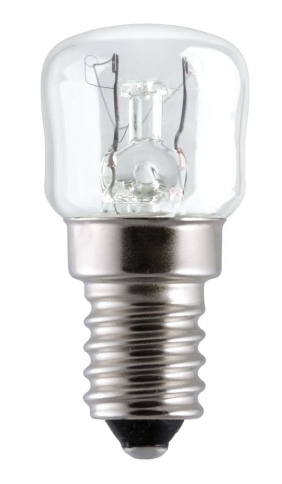 100 x Universal Fisher and Paykel Simpson Westinghouse Oven Lamp 15W 300 Degree E14 Clear Lamp Light Bulbs