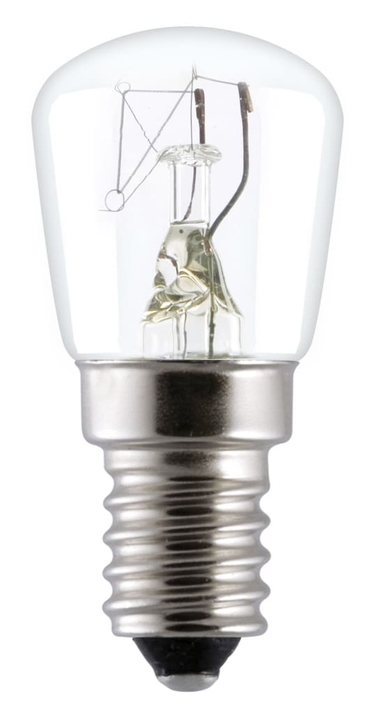 50 x Universal Fisher and Paykel Simpson Westinghouse Oven Lamp 25W 300 Degree E14 Clear Lamp Light Bulbs