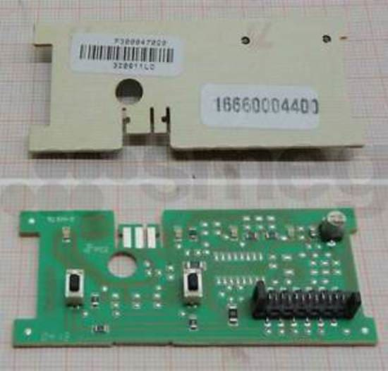 811651238 Smeg Dishwasher Upper PCB Function / Options Display Board Control Board