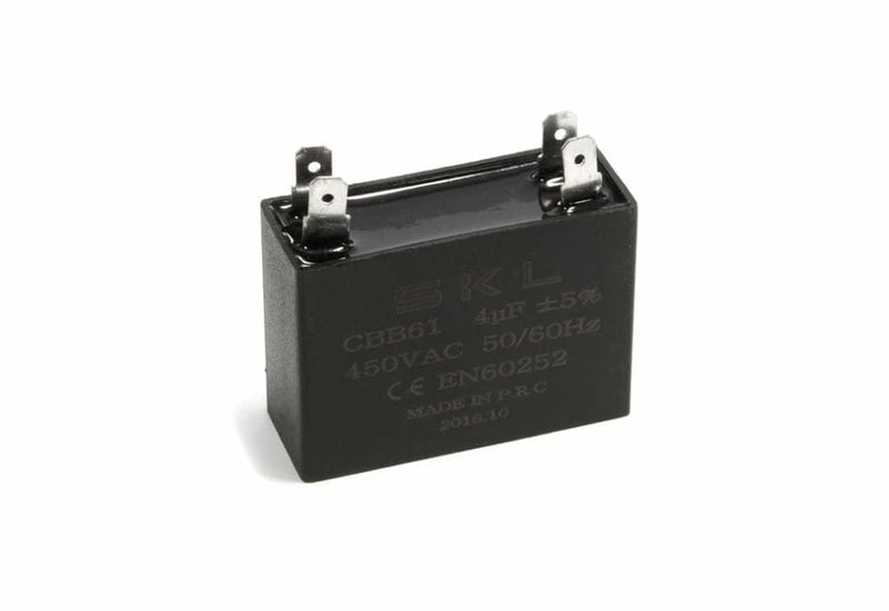Fisher & Paykel Rangehood Capacitor - Universal 4MF 450V Square Capacitor - 790696 Capacitor