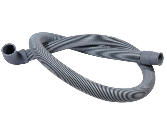 Universal Washing Machine 19-22mm Elbow Drain Hose 200cm Drain Hose
