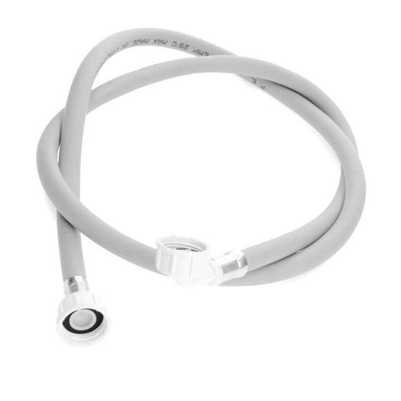 Universal Washing Machine Dishwasher Cold Only Inlet Hose 150cm with Elbow & Straight End Inlet Hose